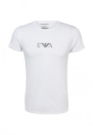 Комплект футболок 2 шт. Emporio Armani. Цвет: белый