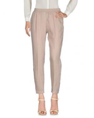 Повседневные брюки ROSSO35. Цвет: песочный