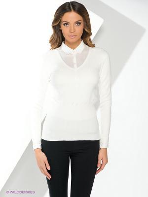 Пуловер Yuka. Цвет: белый