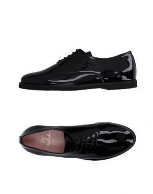 Обувь на шнурках PRETTY LOAFERS. Цвет: черный
