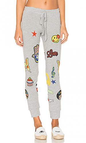 Свободные брюки hello smile kizzy Lauren Moshi. Цвет: серый