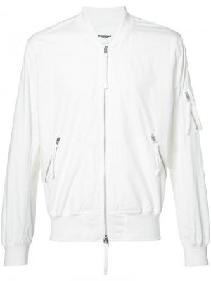 Bomber jacket The Soloist. Цвет: белый