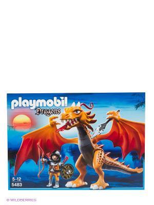 Игровой набор Playmobil. Цвет: оранжевый, синий
