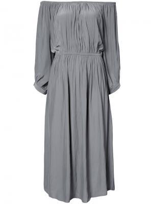 Платье Gypset Smythe. Цвет: зелёный