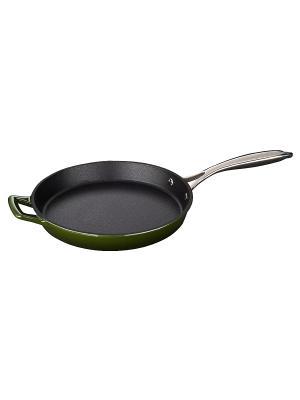 Сковорода LA CUISINE с нерж.ручкой 26см зел 7350. Цвет: зеленый