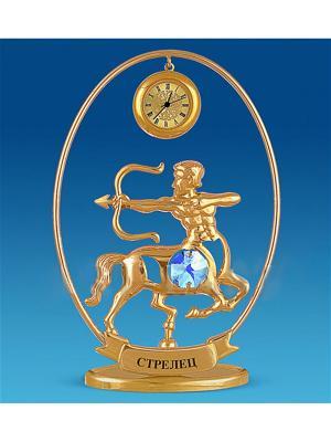 Фигурка с часами Знак Зодиака - Стрелец (Юнион) Юнион. Цвет: золотистый