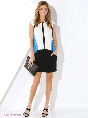 Платье Ana Alcazar. Цвет: черный, белый