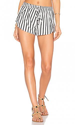 Шорты delia Tori Praver Swimwear. Цвет: black & white
