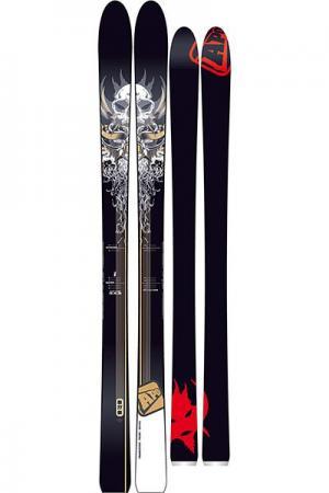Горные лыжи  Wyatt 189 Black/White/Red Apo. Цвет: черный,белый,красный