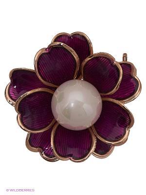 Брошь Lovely Jewelry. Цвет: фиолетовый