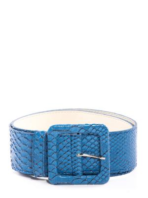 Ремень Vittorio Richi. Цвет: голубой