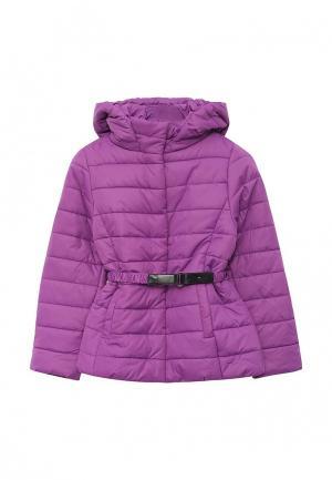 Куртка утепленная Sela. Цвет: фиолетовый