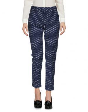 Повседневные брюки SEVENTY SERGIO TEGON. Цвет: темно-синий