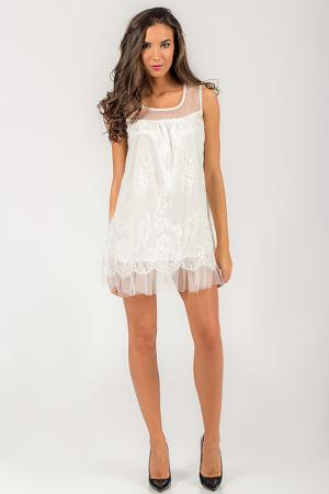 Платье Angel. Цвет: белый