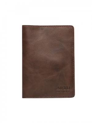 Бумажник водителя Forte. Цвет: коричневый