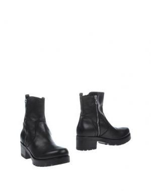 Полусапоги и высокие ботинки NORA BARTH. Цвет: черный