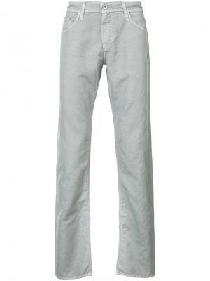 Градуированные джинсы Ag Jeans. Цвет: серый
