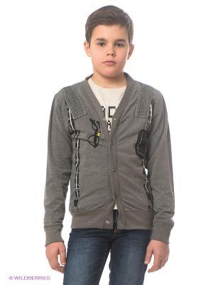 Кардиган Bowtie Suspender Cardigan Mini Shatsu. Цвет: серый