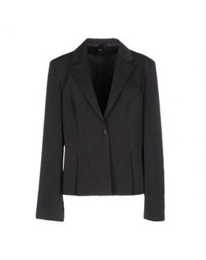 Пиджак NVL. Цвет: свинцово-серый