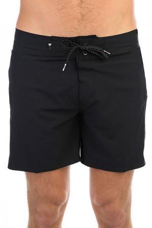 Шорты пляжные  Everydaykaima16 Black Quiksilver. Цвет: черный