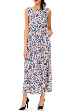 Платье Adelin Fostayn. Цвет: мультицвет