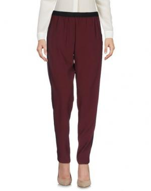 Повседневные брюки .TESSA. Цвет: баклажанный