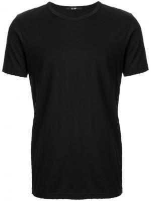 Базовая футболка Hl Heddie Lovu. Цвет: чёрный