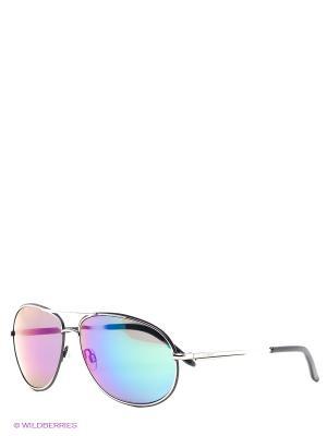 Солнцезащитные очки IC 667S 03 Iceberg. Цвет: серебристый