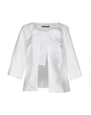 Пиджак LA CAMICIA BIANCA. Цвет: белый