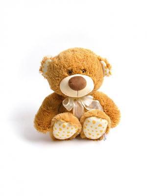 Мягкая игрушка Медвежонок Ник Malvina. Цвет: рыжий