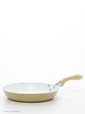 Сковорода 26 см Winner. Цвет: горчичный