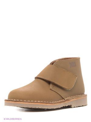Ботинки XTI. Цвет: серо-коричневый