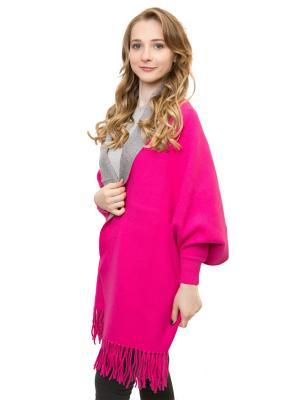 Пончо Maxval. Цвет: розовый