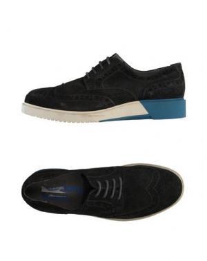 Обувь на шнурках ANTHONY MILES. Цвет: свинцово-серый