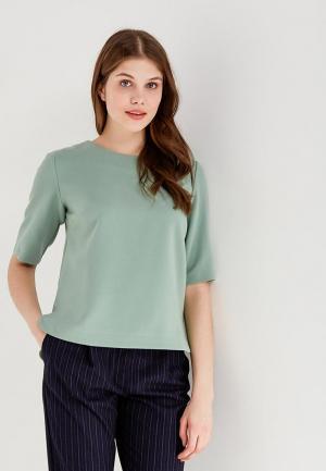 Блуза Echo. Цвет: зеленый