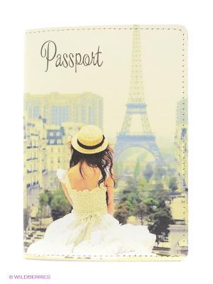 Обложка для паспорта BB1. Цвет: светло-бежевый
