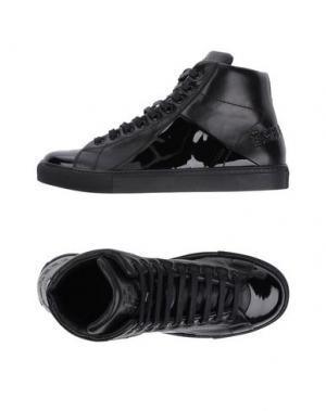 Высокие кеды и кроссовки MR.HARE. Цвет: черный