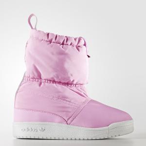 Сапоги Slip-on  Originals adidas. Цвет: белый