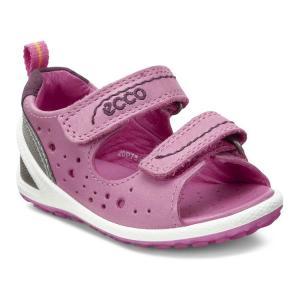 Сандалии ECCO. Цвет: розовый