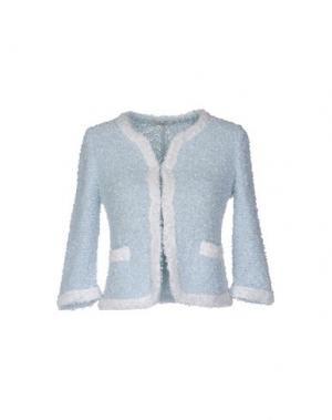 Пиджак CHARLOTT. Цвет: небесно-голубой