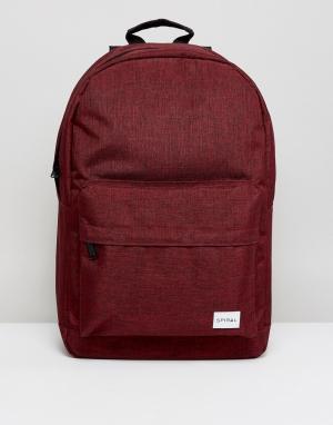 Spiral Бордовый рюкзак. Цвет: красный