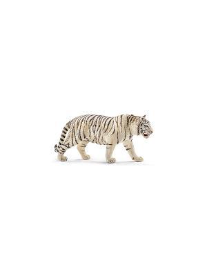 Тигр белый SCHLEICH. Цвет: белый, черный