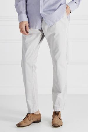 Хлопковые брюки Edun. Цвет: белый