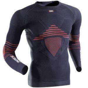 Термо-Кофта X-Bionic. Цвет: black/red