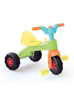 Велосипед трехколесный Dolu.. Цвет: зеленый
