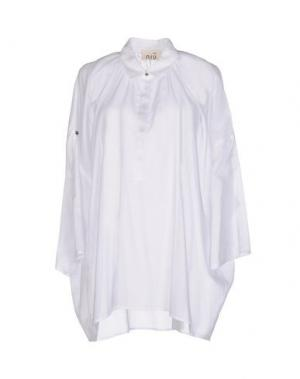Pубашка NIU'. Цвет: белый