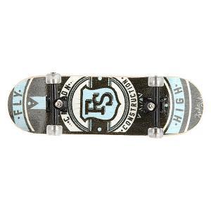 Фингерборд  П9 Black/Light Blue/FS/Clear Turbo-FB. Цвет: черный,мультиколор,белый,голубой