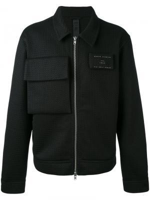 Куртка Box Odeur. Цвет: чёрный