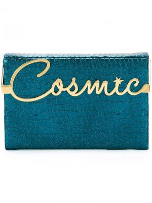 Клатч Cosmic Vanina Charlotte Olympia. Цвет: синий