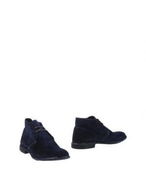 Полусапоги и высокие ботинки PANTOFOLA D'ORO. Цвет: темно-синий